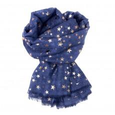 SC-Denim Blue Stars-Rose GoldFoil