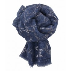 SC-Denim Blue Hearts RG Print